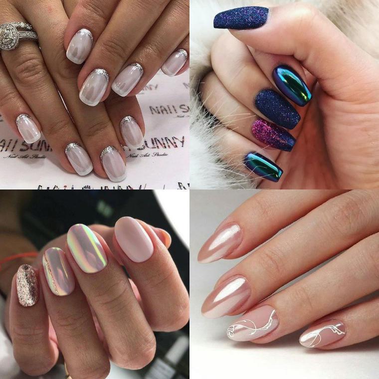 шеллак фото дизайн на короткие ногти 2019 6