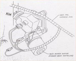 Camaro Windshield wiper, washer & pump Information, restoration and repair