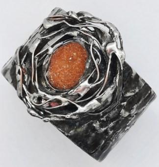 kwarc tytanowy bransoletka