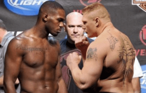 Jon Jones Brock Lesnar