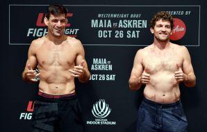 Wyniki ważenia UFC Singapur