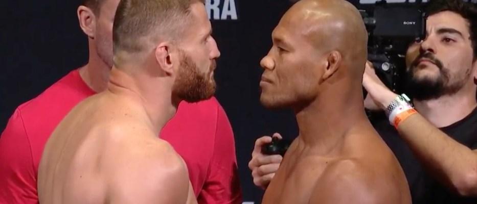Wyniki ważenia UFC Sao Paulo