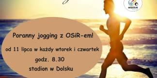 Kto rano wstaje... Ośrodek Sportu i Rekreacji w Dolsku zaprasza na poranny jogging