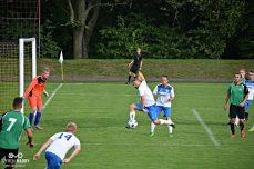 Damian Skrzypczak podczas meczu Warta Śrem - Zjednoczeni Trzemeszno (0:6)