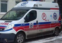 Karetka pogotowia w śremskim szpitalu (fot. archiwum)