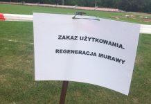 Murawa na stadionie w Śremie ponownie bez wody, a pogoda nie odpuszcza
