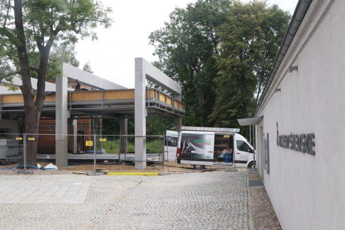 Trwają prace przy rozbudowie Muzeum Śremskiego o pawilon wystawowy i salę widowiskową