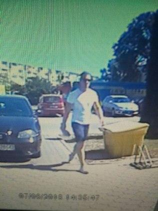 Napad na bank w Śremie: zdjęcia z monitoringu