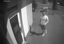 Napad na bank w Śremie: kolejne zdjęcie z monitoringu