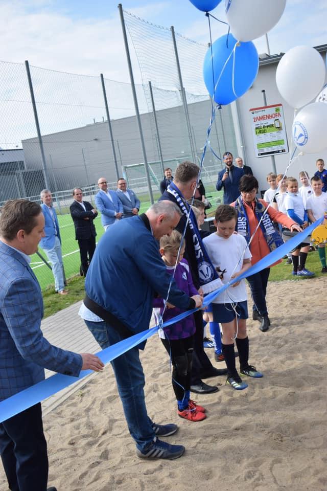Plac zabaw przy orliku na Zamenhofa oficjalnie otwarty