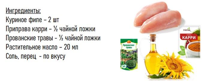 Pollo manica - Ingredienti
