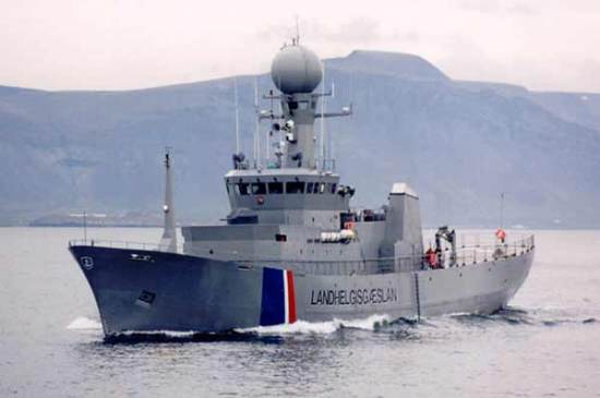 Coast Guard vessel Aegir.