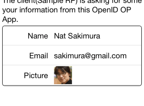 OpenID Connect IdP on iPhone