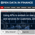 Open Data in Finance Conference: Chair's Welcome
