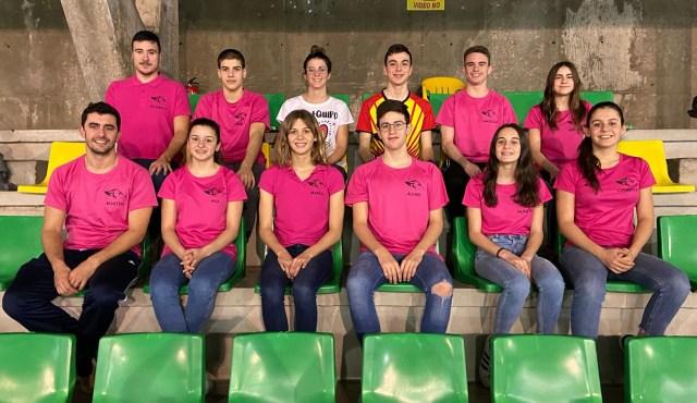 Carmen García Arenas Subcampeona Regional absoluta en 3.000 y Daniela Valverde Martínez Tercera en 2.000