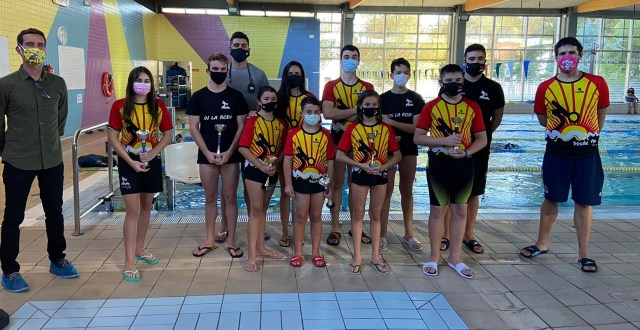 Entrega de Trofeos Nadador Completo Club Natación La Roda Verano 2020