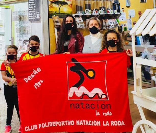 Cochité nuevo colaborador del Club Natación La Roda