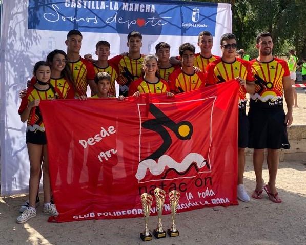 Campeonas Regionales de Aguas Abiertas