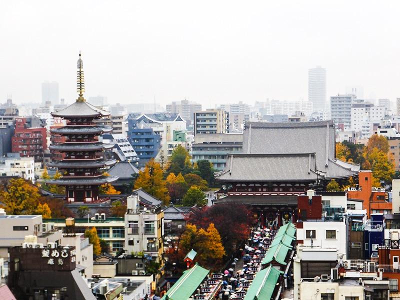 Itinerario Tokyo - Senso-Ji