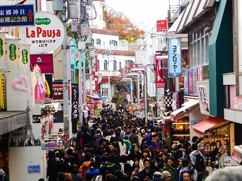 Itinerario Tokyo - Takeshita-dori