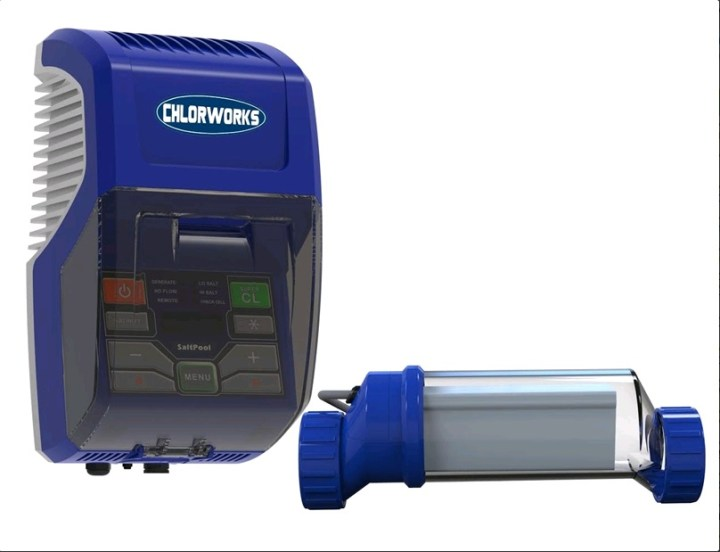 מכשיר מלח SALTPOOL מתקדם לבריכת שחייה ביתית