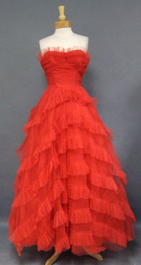 1950s Ball Gowns