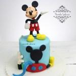 Decoración tema Mickey Mouse