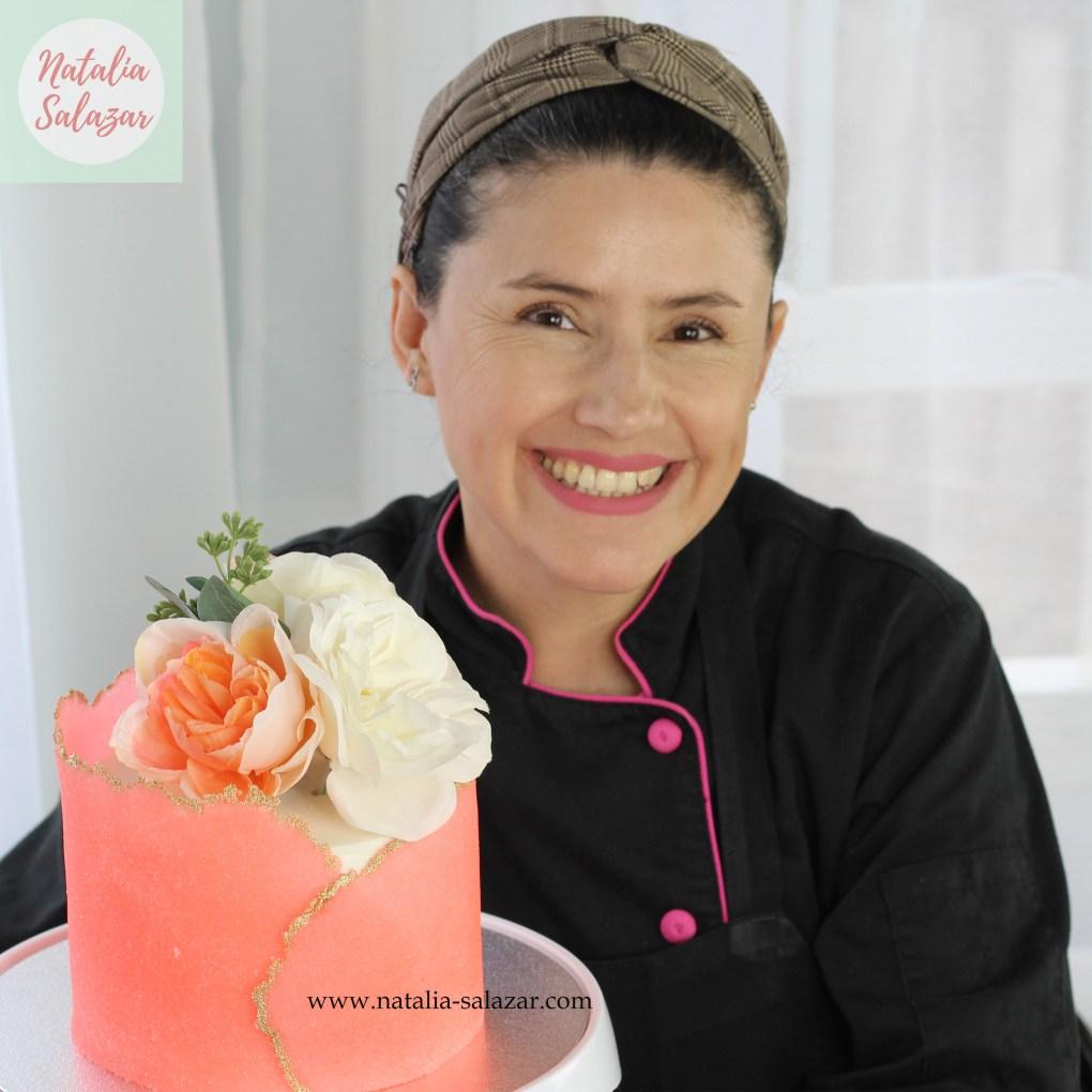 Receta sugar Sheet Natalia Salazar Decoración de Tortas