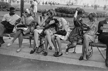 Feria de Garry Winogrand Mundial, Nueva York 1964