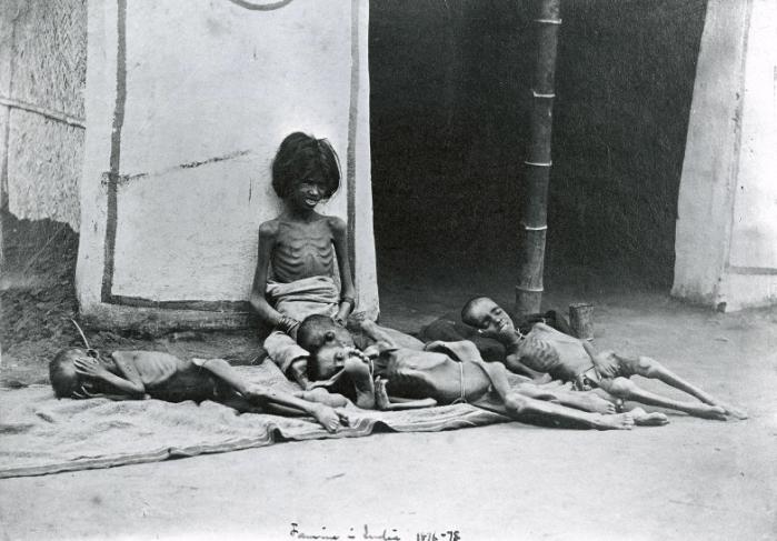 William Hooper y las hambrunas en India 1876