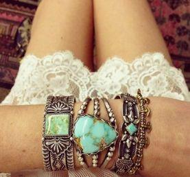 mix de bracelets