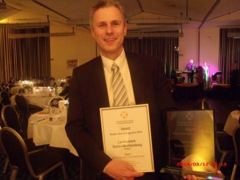 Award Preisverleihung 2014.