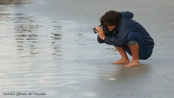 foto en la orilla del mar