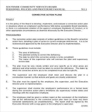 Significant time and energy are utilized to interview, train, and retain our employees. Sample Corrective Action Plan Letter Template Library