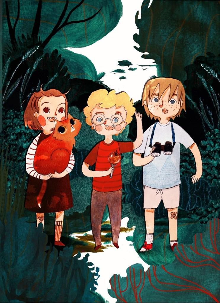 Felek, Żelek i Helka - mali detektywi na tropie