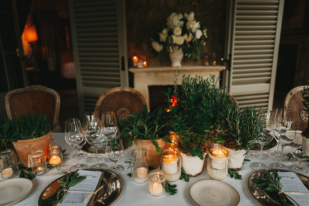 Tuscan countryside wedding