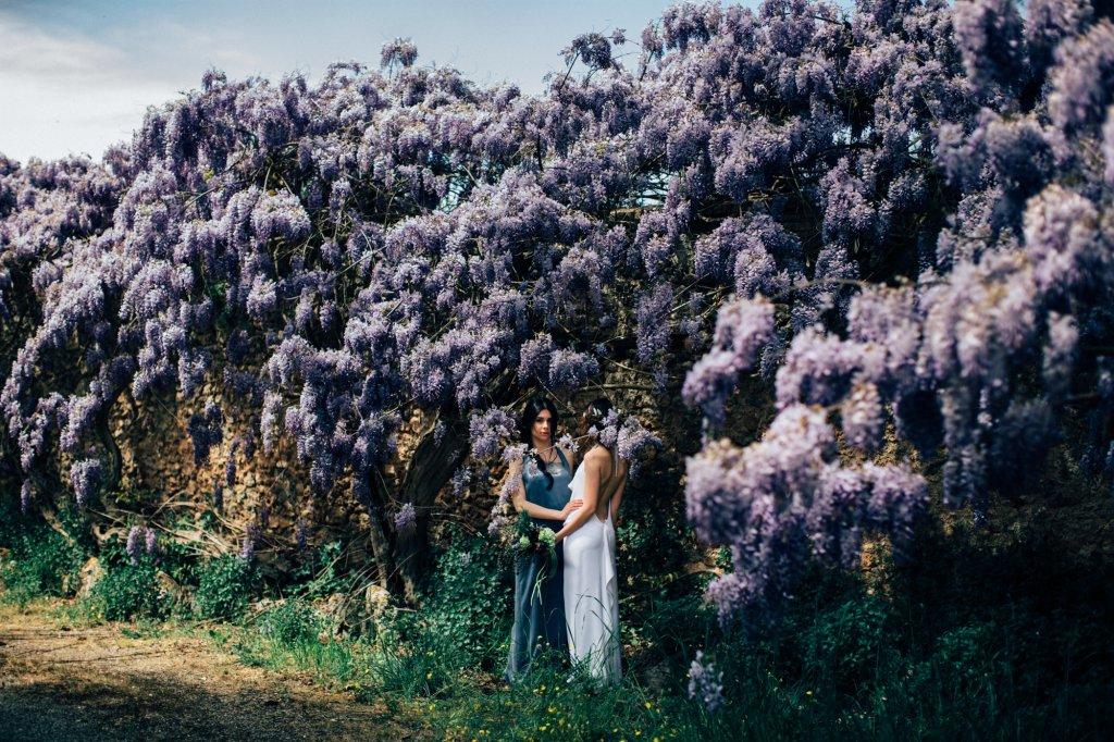 Spring Italian garden wedding inspiration style shoot