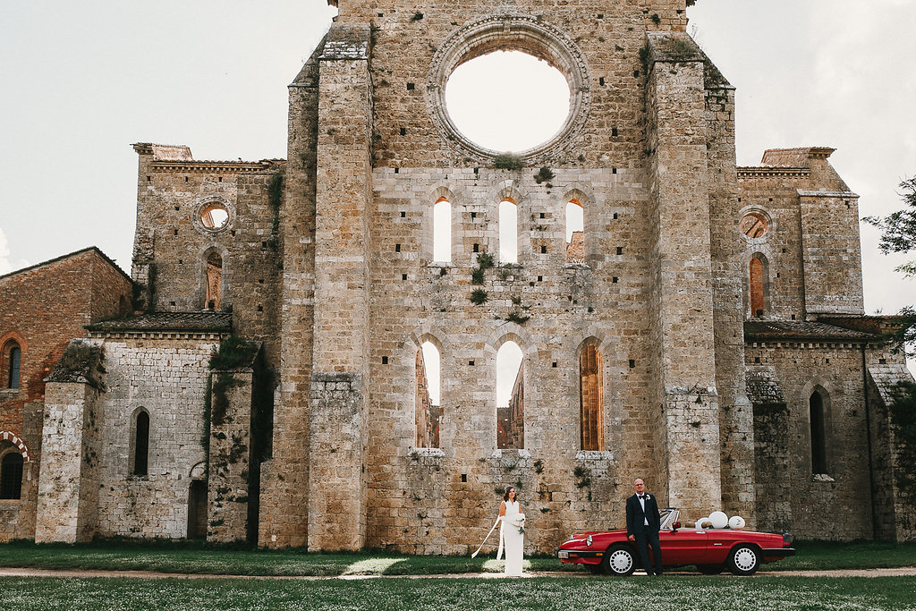 San Galgano Abbey unforgettable wedding venue in Italy