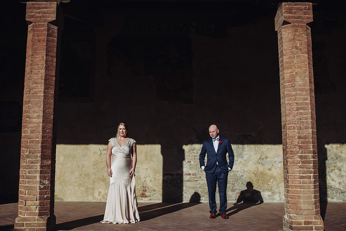 Couples portraits - wedding in Certaldo