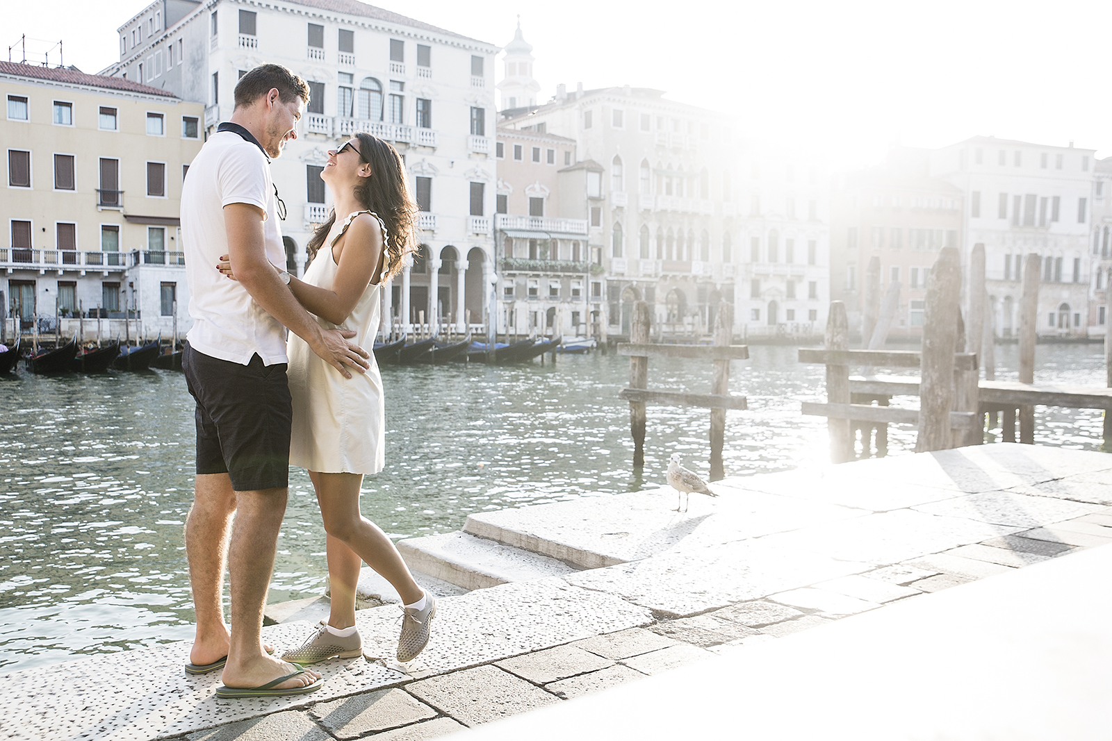 Venice couple photo shoot