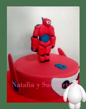 Tarta Big Hero 4
