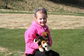 Elodie at The Great British Dog Walk
