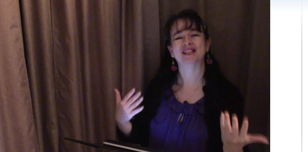 Natalie Buske Thomas teaching still from Jan 2021