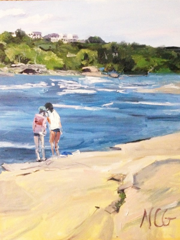 """Original Oil Painting-Scenes of Richmond: """"Wednesday Afternoon on Belle Isle"""" Oil on Canvas, 24"""" x 18"""""""
