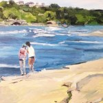 """Original Oil Painting-Scenes of Richmond: """"Wednesday Afternoon on Belle Isle"""" Oil on Canvas, 24'x18"""""""