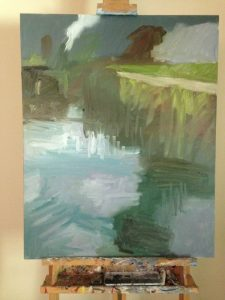Painting Process: second layer refining colors