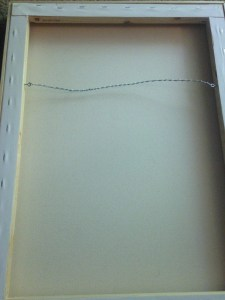 Wiring for Stretched Canvas