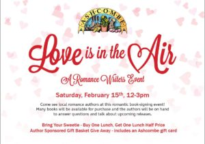 Love is in the Air author event