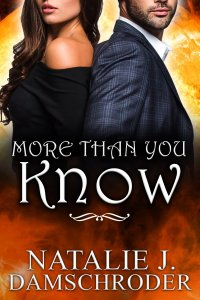Cover for More Than You Know, a novel