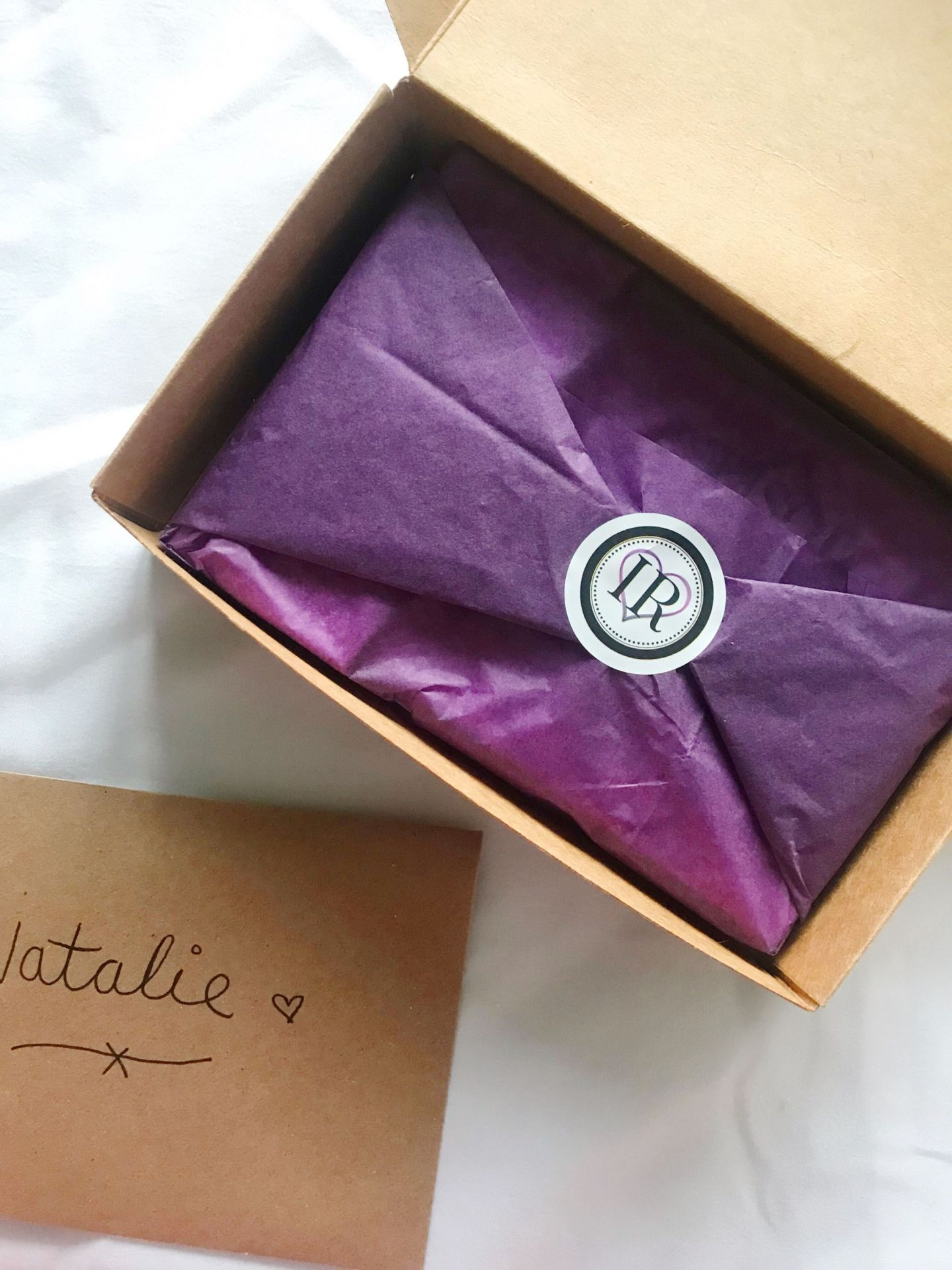 Indigo Rosee Beauty packaging and card